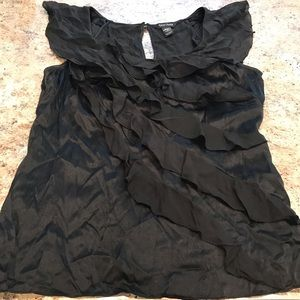 White House Black Market Silk Top